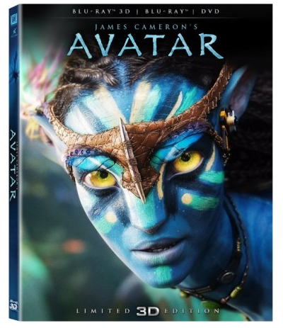 Avatar 3D blu-ray collector edition
