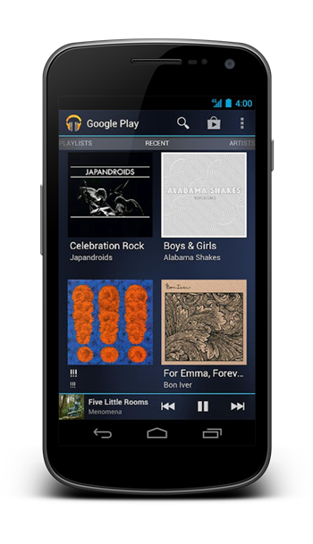 Google Play Music2