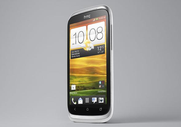HTC Desire X white front