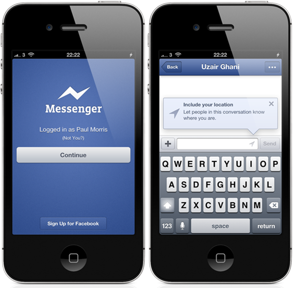 how to change messenger name on iphone