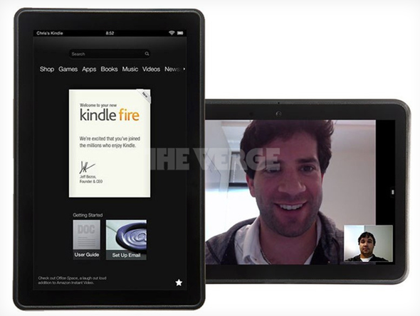New Kindle Fire 1