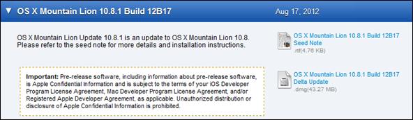 OSX ML12b17