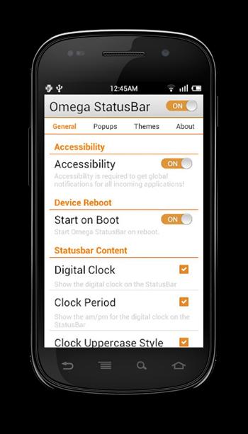 Omega StatusBar1