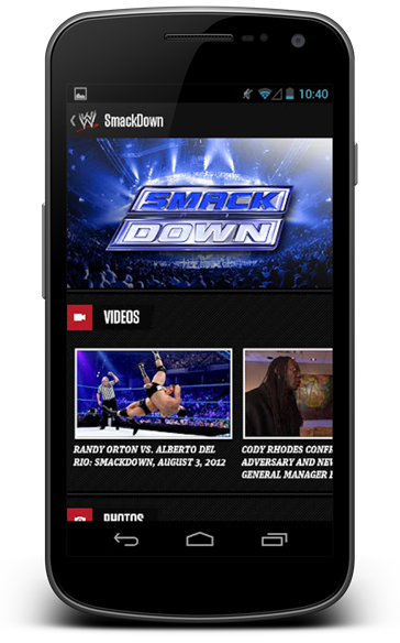 WWE Android