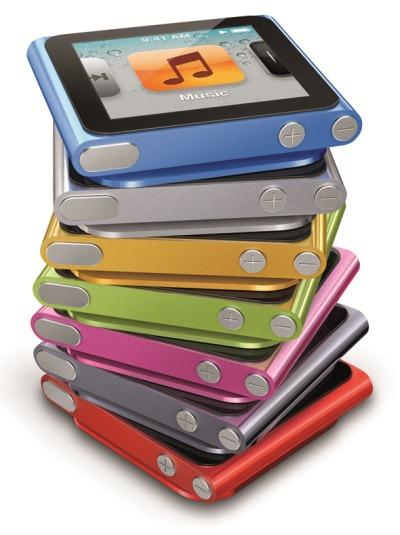 iPod nano stack