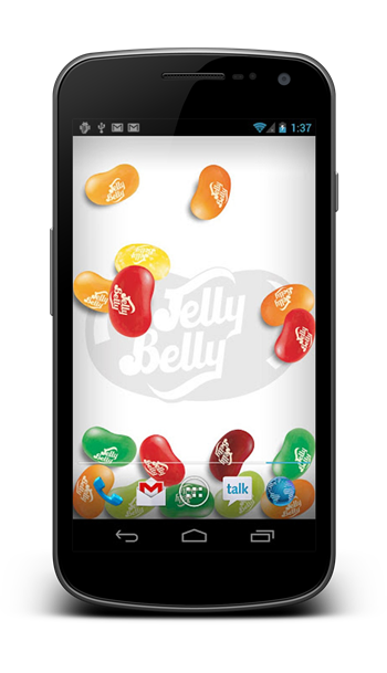 jelly bean wallpaper 2