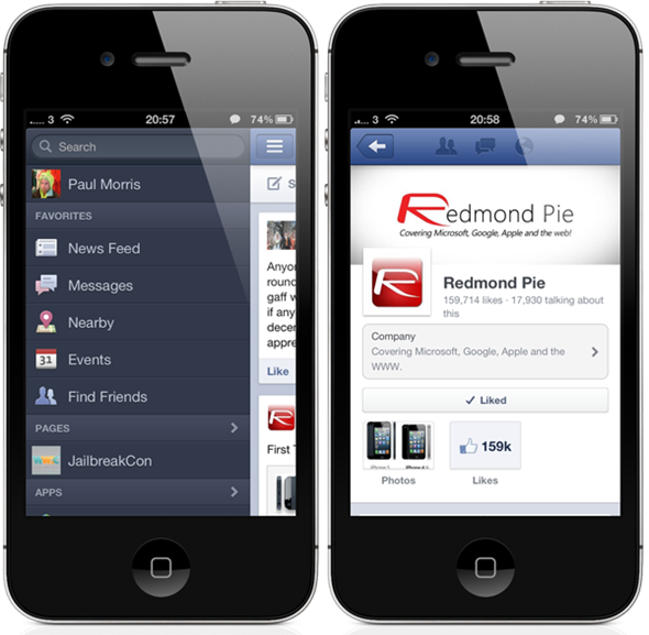 Facebook v5.0.1 For iOS Released, Features Full Support ...