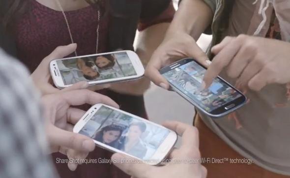 Galaxy S III ad iPhone 5