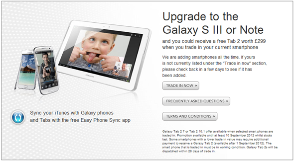Galaxy Tab 2 7 free