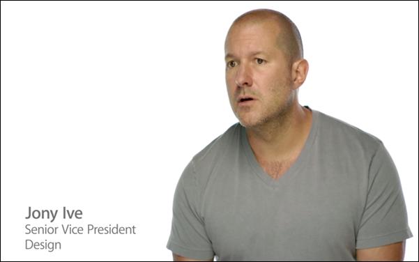 Jony Ive iPhone 5