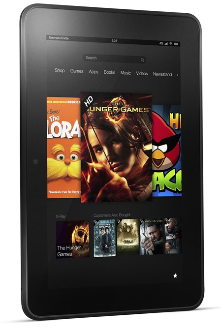 Kindle Fire HD - 8.9, Angle