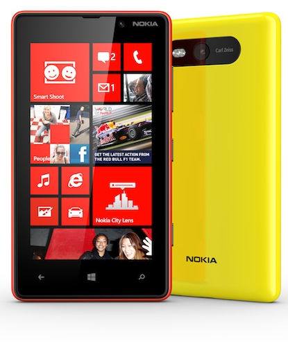 Lumia 820 press shot