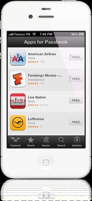 Passbook App Store