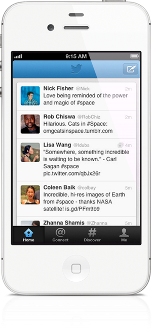 Twitter iPhone 2