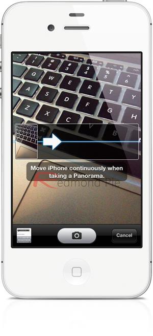 iOS 6 Camera