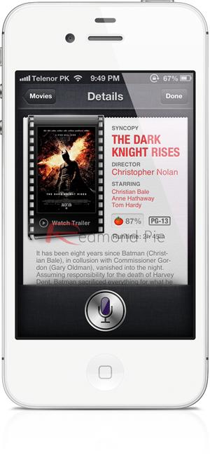 iOS 6 Siri Movies