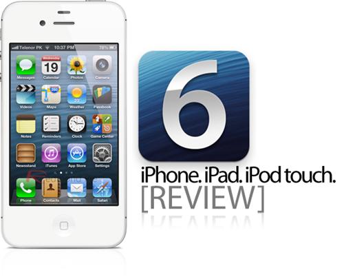 iOS 6 review main