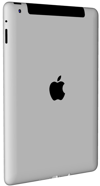 iPad mini render back