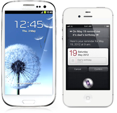 iPhone 4S Galaxy S III