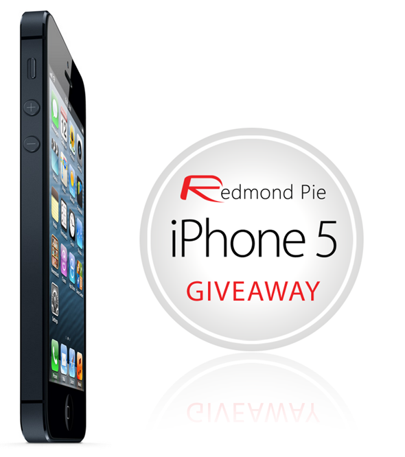 iPhone 5 giveaway RP main