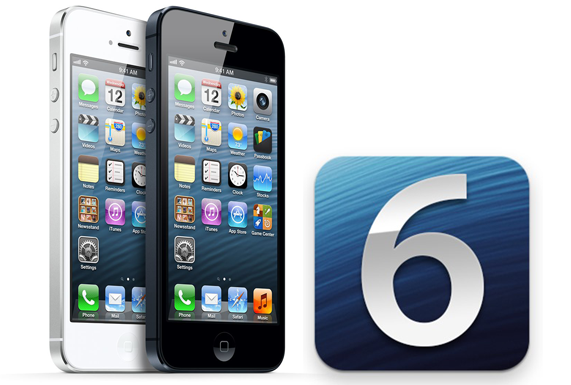 iPhone 5 iOS 6 main