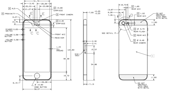 Iphone 5 Schematic Drawings Now Available For Download Via Apple