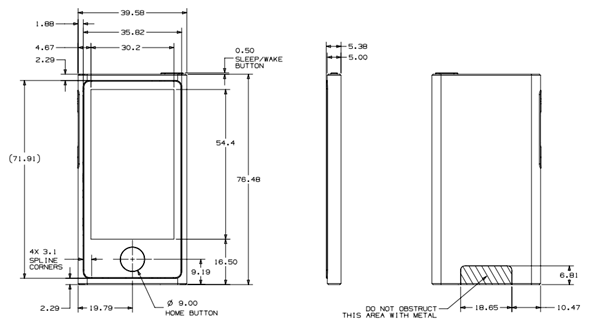 iPod nano schematic