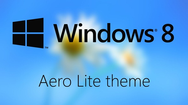 Enable Hidden Aero Lite Theme In Windows 8 For (Slightly