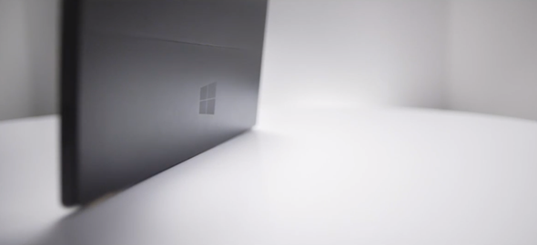MS Surface ad