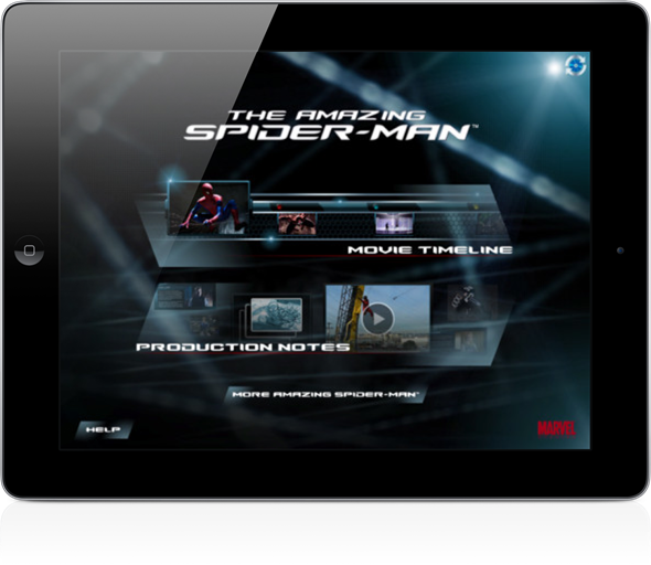 Spiderman Second screen 2
