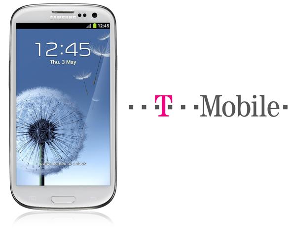 T-Mobile Galaxy S III splash