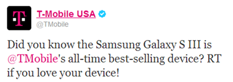 T-Mobile Galaxy S III