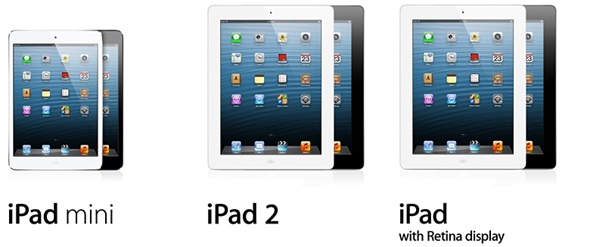 iPad comparison header