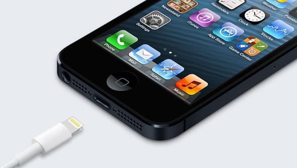 iPhone 5 lightning