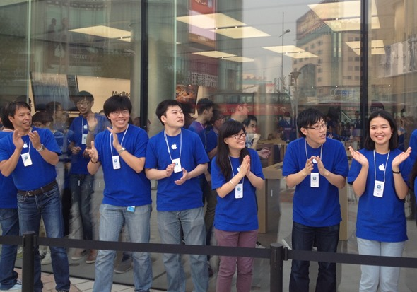 wangfujing-applestore-outside