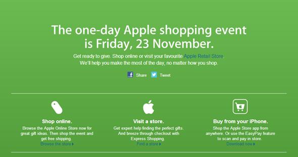 Apple Aus Black Friday