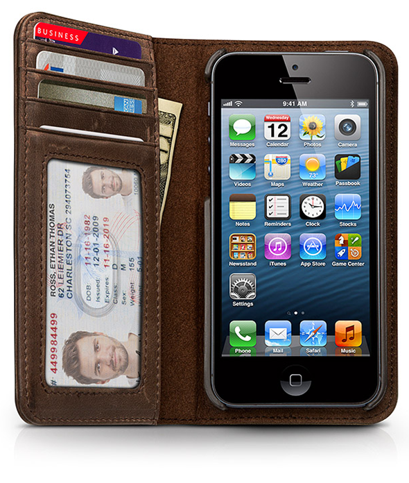 BookBook for iPhone 5 front