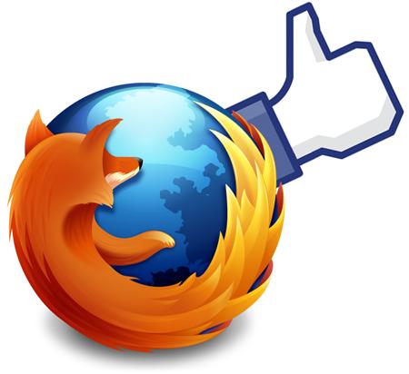 Firefox 17 facebook integration