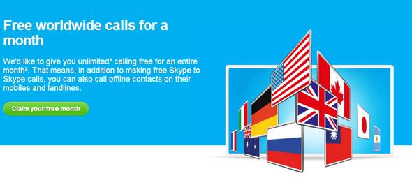 Free Skype Calls