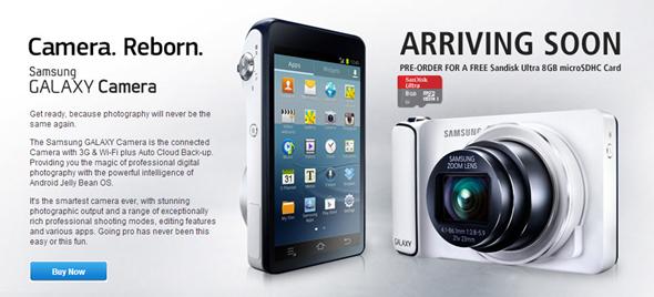 Pre-order Galaxy Camera
