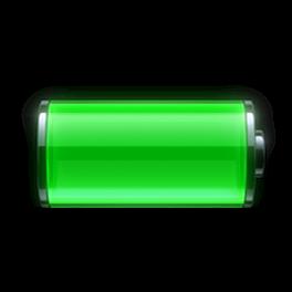 iOS battery logo