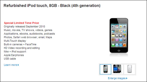 iPod touch 4G Deal