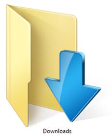 Downloads Folder Windows 8