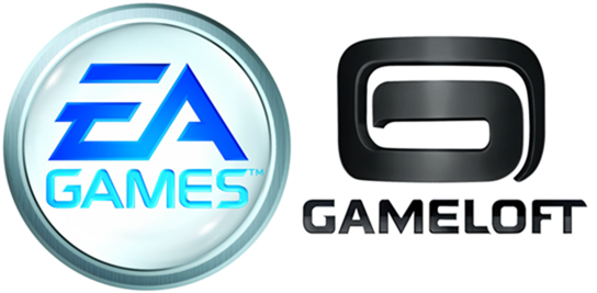 EA Gameloft logo
