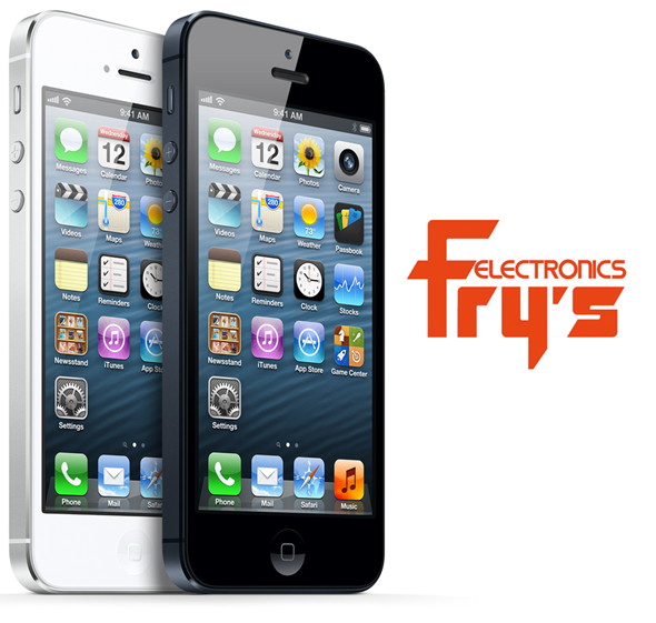 Frys iPhone 5 sale