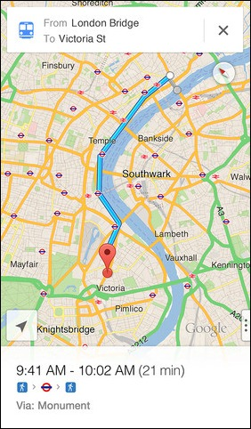 Google Maps for iOS (3)