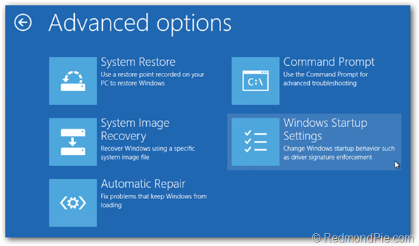 How To Boot Into Windows 8 1 / 8 Safe Mode [Guide] | Redmond Pie