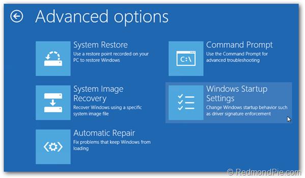 How To Boot Into Windows 8.1 / 8 Safe Mode [Guide] | Redmond Pie