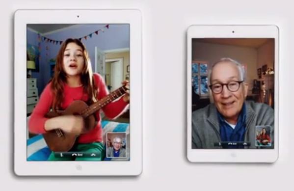 iPadchristmastvad