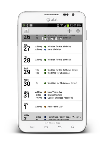 Agenda Android 1